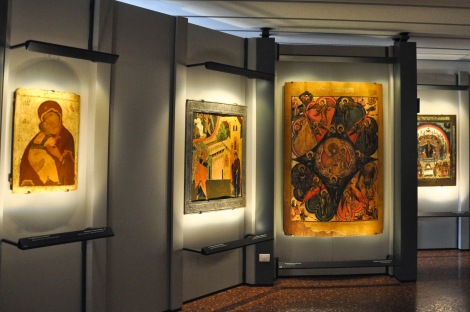 Inside the Russian Icons Exposition at the Gallery of Palazzo Leoni Montanari in Vicenza-2