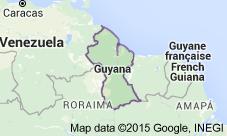 GuyanaKarte