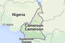 KamerunKarte