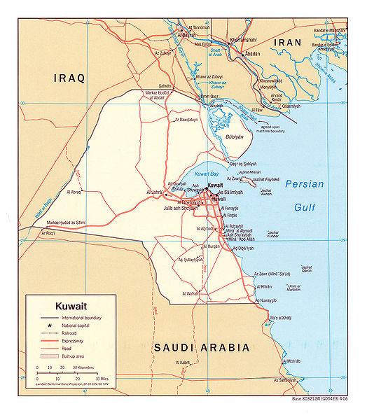 KuweitKarte