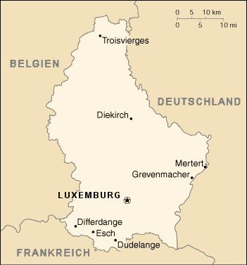 LuxemburgKarte