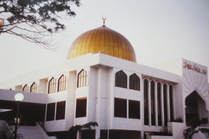 Moschee auf der Inselhauptstadt Malé © Wolfgang Stoephasius