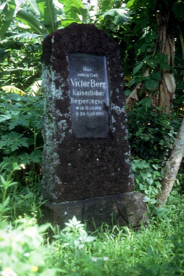 Friedhof auf Pohnpei © Wolfgang Stoephasius