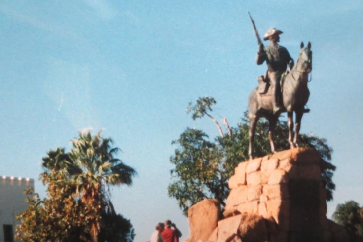 Das deutsche Schutztruppendenkmal in Windhoek© Wolfgang Stoephasius