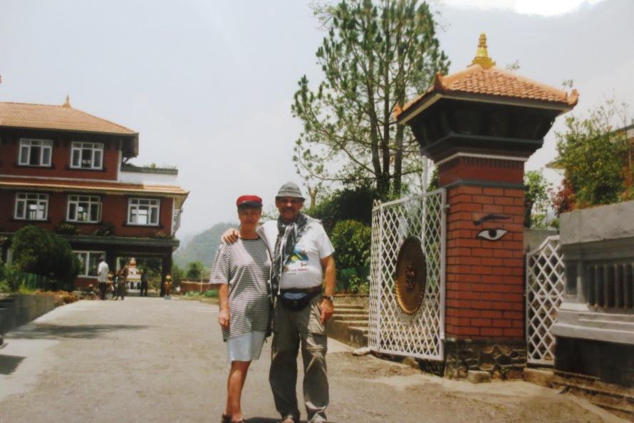 "Das Hotel ""New Christal"" in Pokhara © Wolfgang Stoephasius"