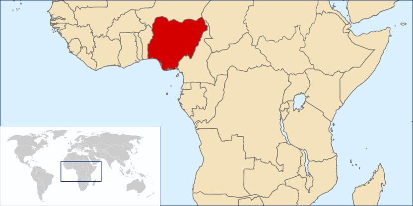 NigeriaKarte