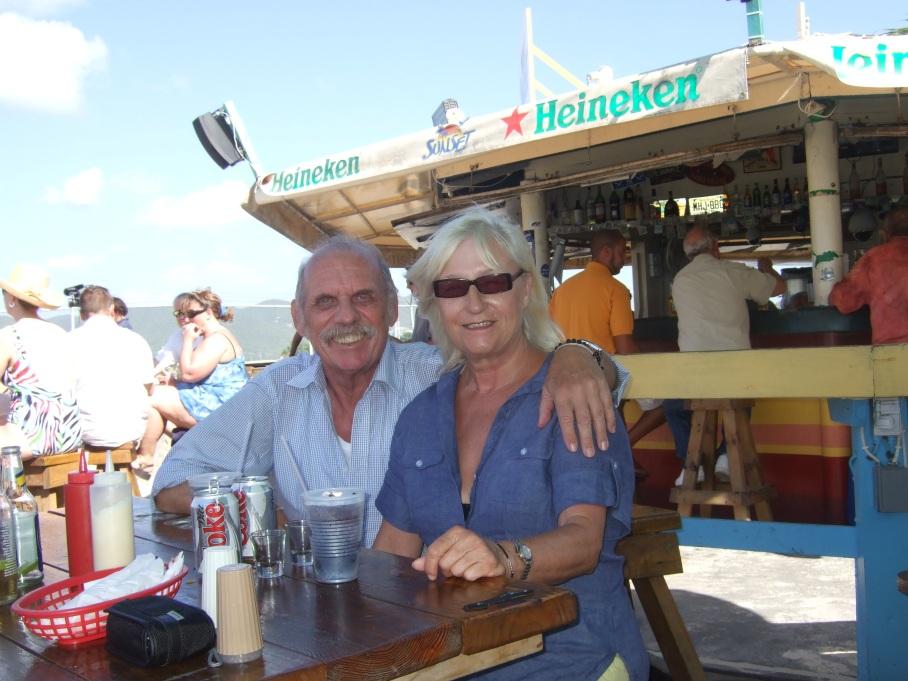 St. Maarten: Die Airport-Beach-Bar © Wolfgang Stoephasius