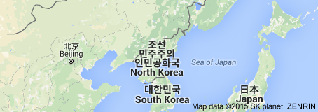 NordkoreaKarte