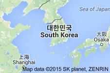 SüdkoreaKarte