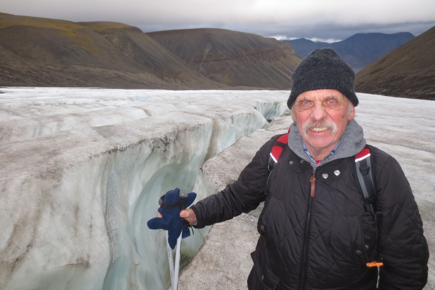 Longyear-Gletscher © Wolfgang Stoephasius