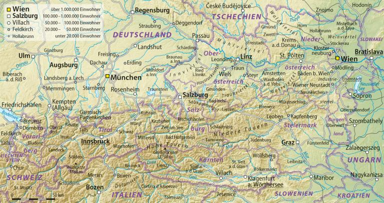 Österreich_Übersichtskarte