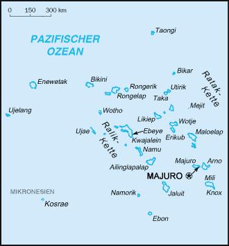 Marshall-Inseln-Karte