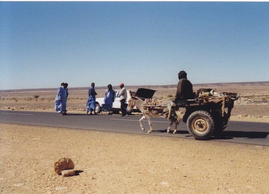 Panne in der Wüste © Wolfgang Stoephasius