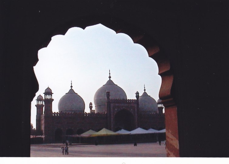 Freitagsmoschee in Lahore © Wolfgang Stoephasius