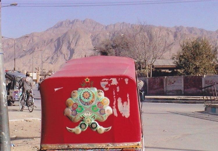 Motorrikscha in Quetta © Wolfgang Stoephasius