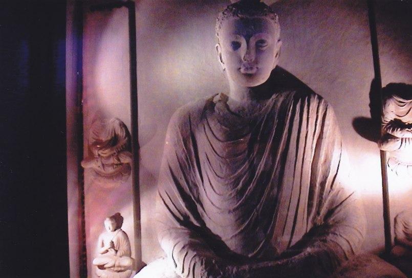 Buddha in Taxila © Wolfgang Stoephasius