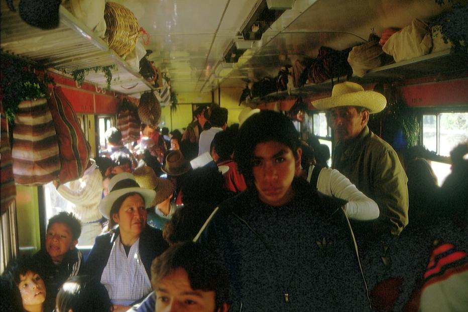 Im Zug von Cusco © Wolfgang Stoephasius