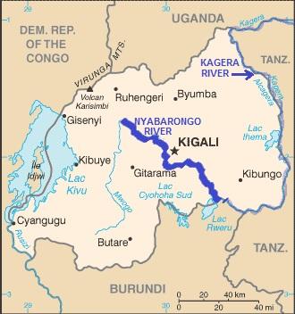 RuandaKarte