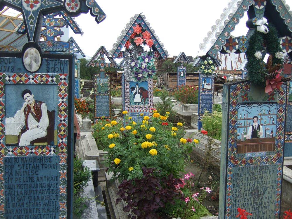 Friedhof von Sapanta © Wolfgang Stoephasius