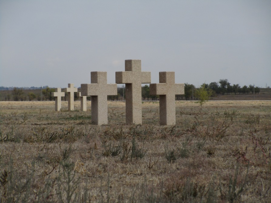 Rossoschka: Soldatenfriedhof bei Wolgograd © Wolfgang Stoephasius