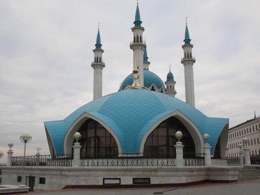 Die Moschee von Kazan © Wolfgang Stoephasius