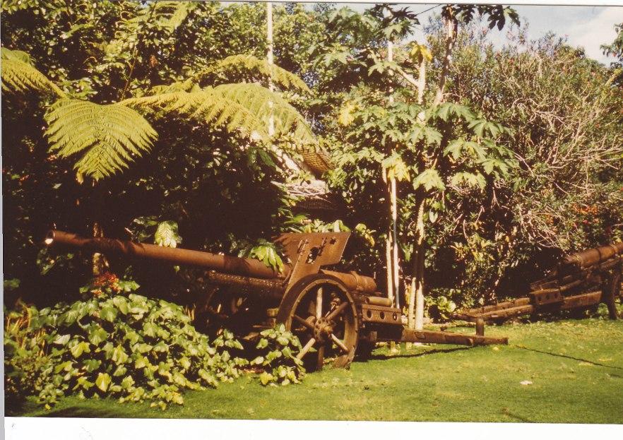 Weltkriegsrelikte auf Guadalcanal © Wolfgang Stoephasius