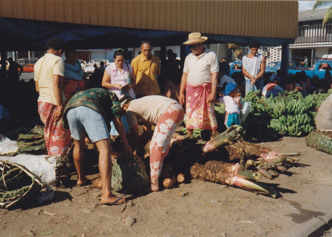 Markt in Apia © Wolfgang Stoephasius