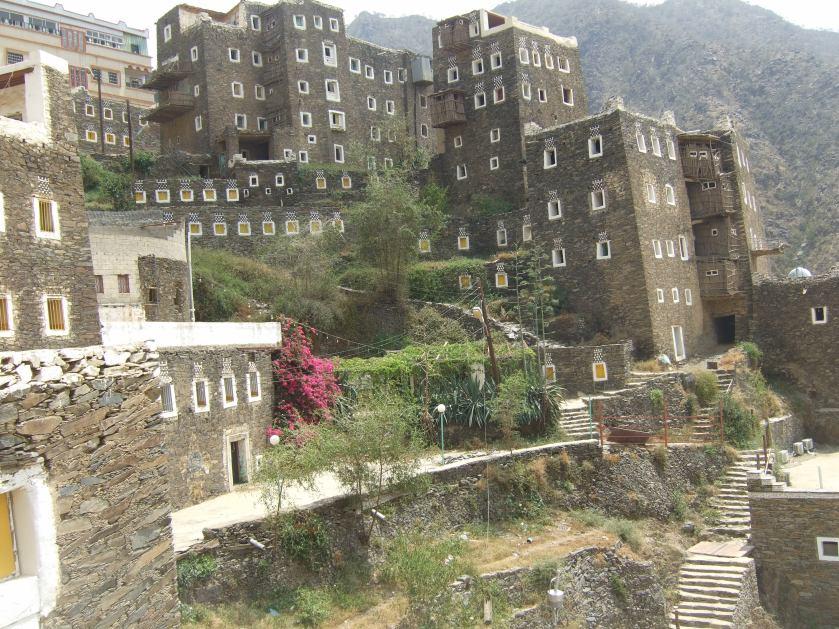 Jemenitische Architektur © Wolfgang Stoephasius