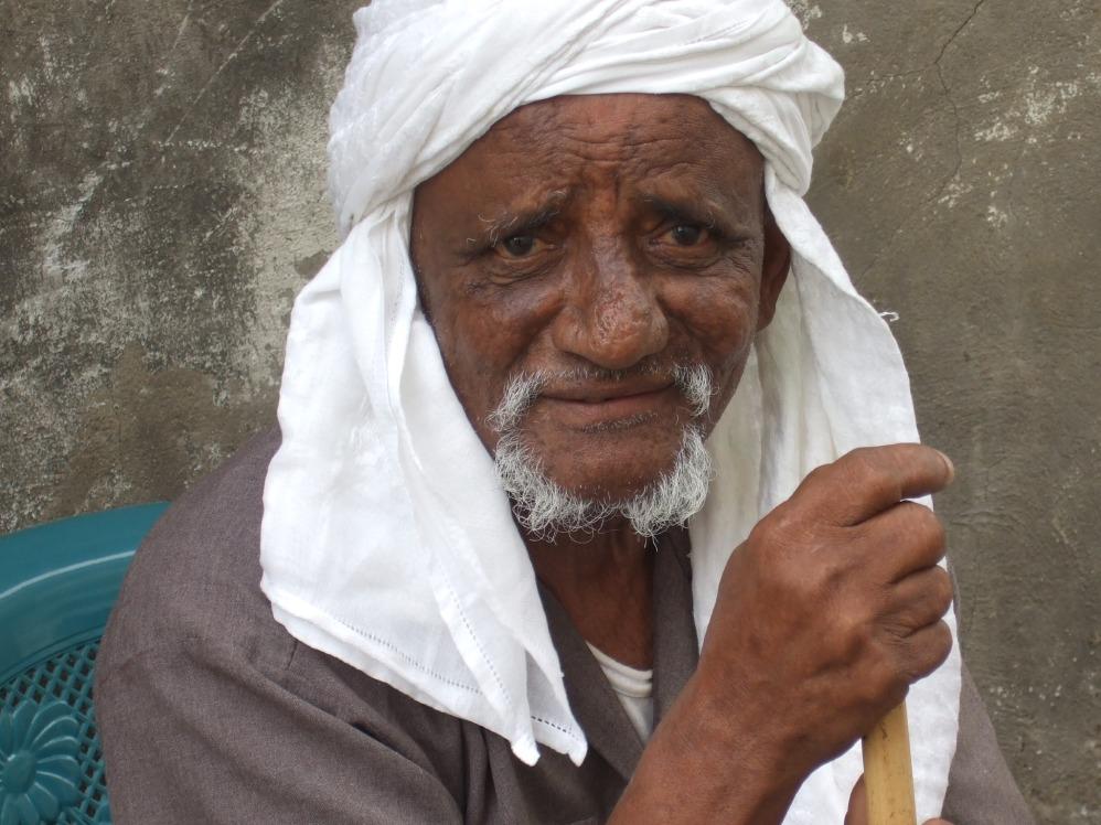 Alter Mann in Jeddah © Wolfgang Stoephasius