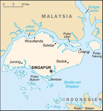 SingapurKarte