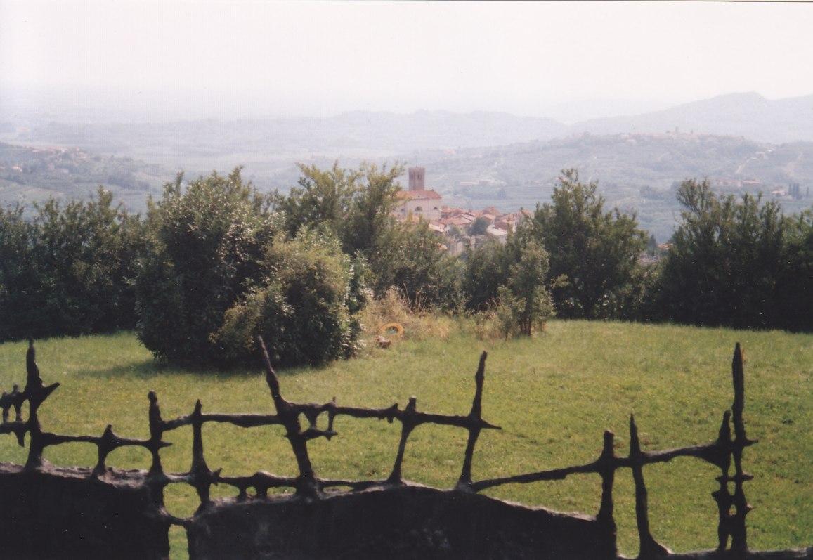 2000 waren wir bei Freunden im friulischen Udine. Von dort aus ging es nach Nova Goriza (Neu-Görz) und in die umliegende Weingegend.