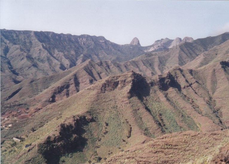Auch auf der  Insel Gomera waren wir auf steilen Pfaden unterwegs.