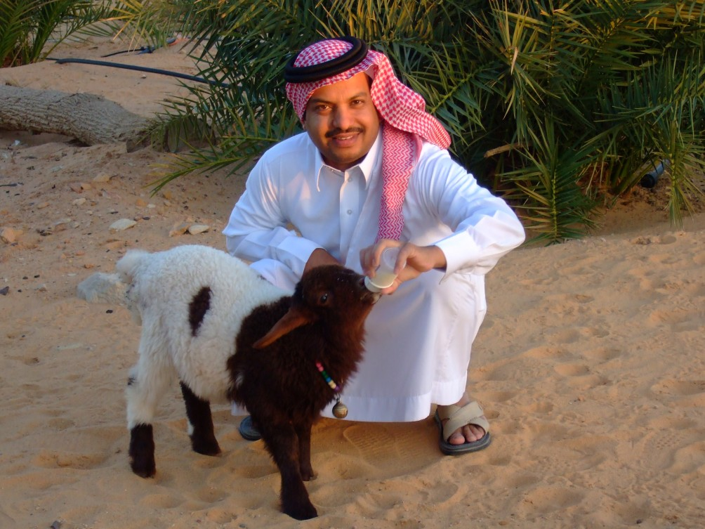 Saudischer Farmer © Wolfgang Stoephasius