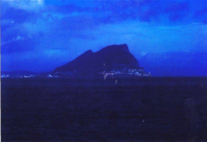 Der Felsen von Gibraltar © Wolfgang Stoephasius