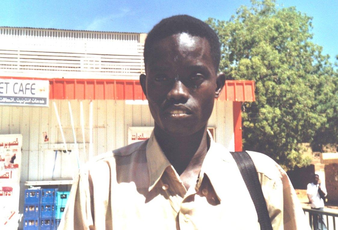 Student vom Volk der Nuba © Wolfgang Stoephasius