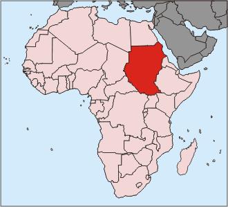 SudLocationSudan_Africa