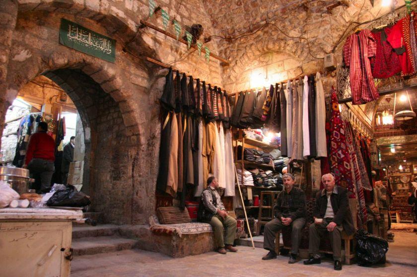 Bazar von Aleppo