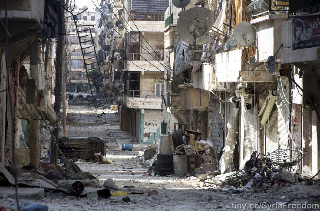 Aleppo heute