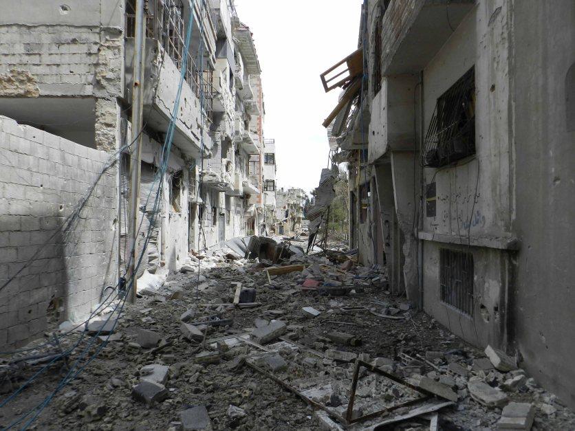 Das zerstörte Homs