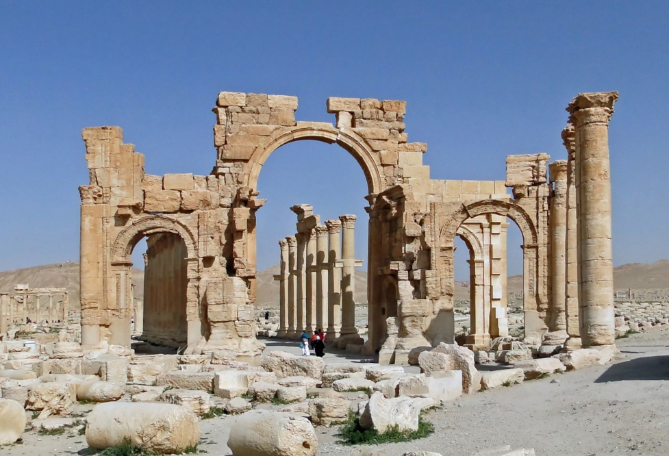 Die römische Stadt Palmyra