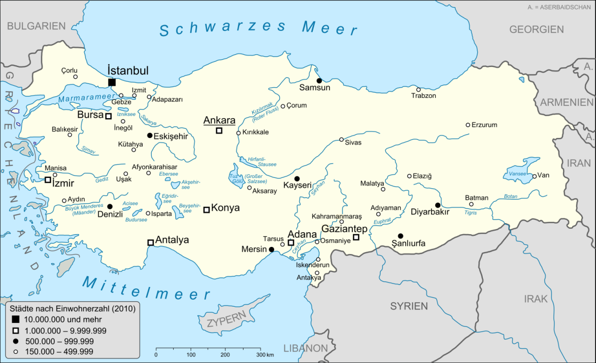 TürkeiKarte