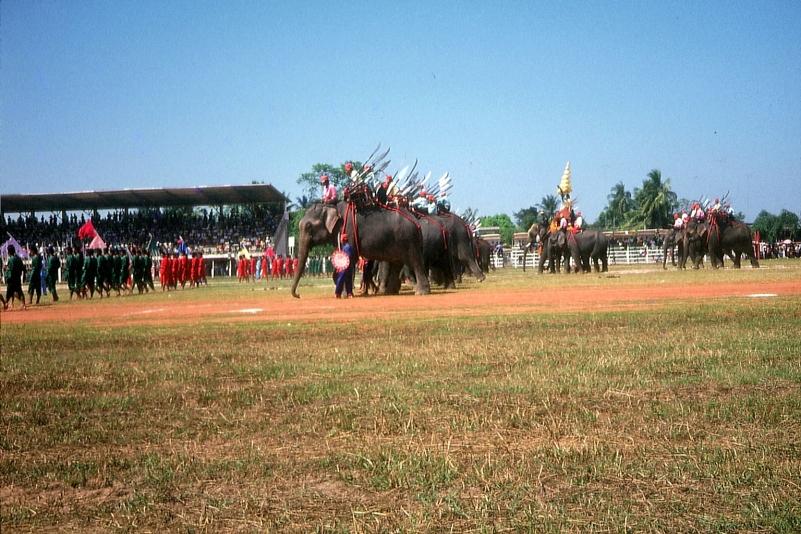 Großes Elefantenfest in Surin © Wolfgang Stoephasius