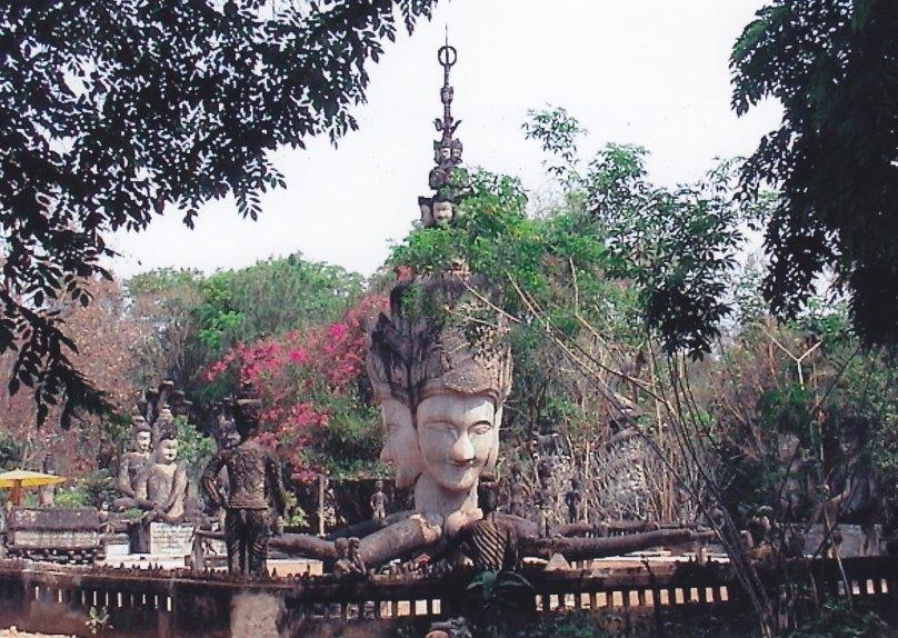 Skulpturenpark Sala Keo Kou (Isan) © Wolfgang Stoephasius