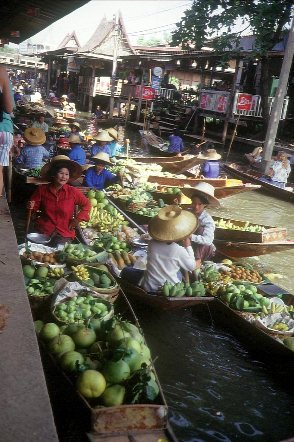 Schwimmende Märkte von Thonburi  © Wolfgang Stoephasius