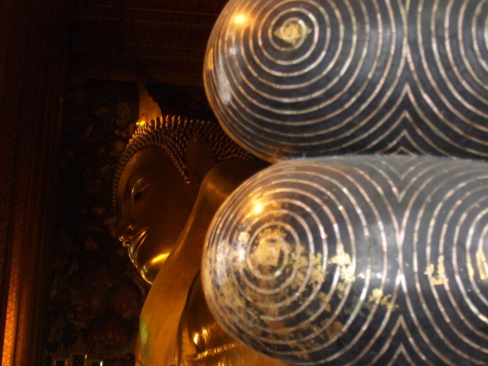 Tempel des Liegenden Buddha in Bangkok © Wolfgang Stoephasius