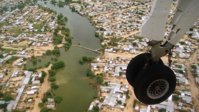 N'Djamena von oben