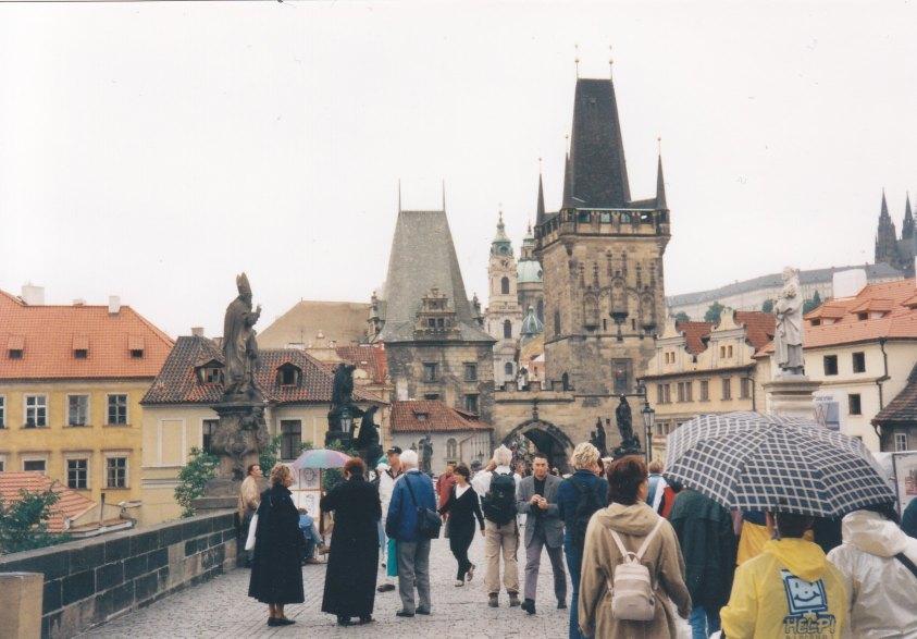 Prag im Jahr 2000 © Wolfgang Stoephasius