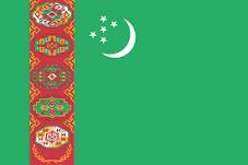 TurkmenistanFahne