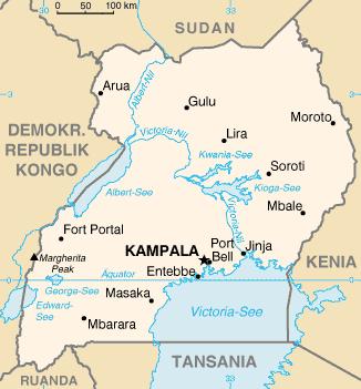 Uganda_map_de