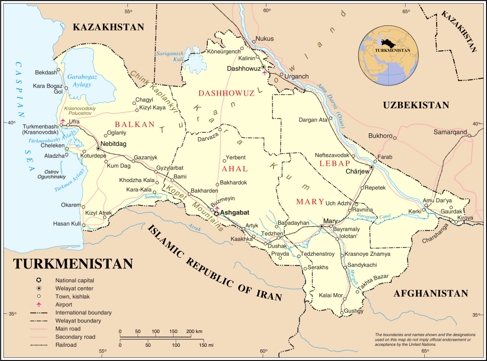 Un-turkmenistan